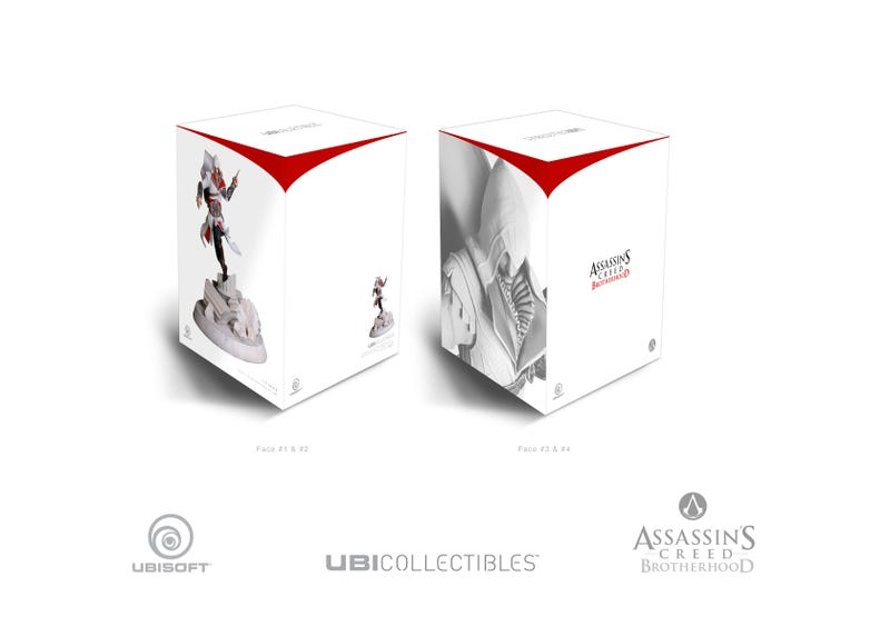 A Closer Look at Ubisoft's Assassin's Creed and Might & Magic Figures