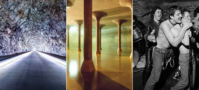 14 Underground Structures That Expose the World Beneath Our Feet