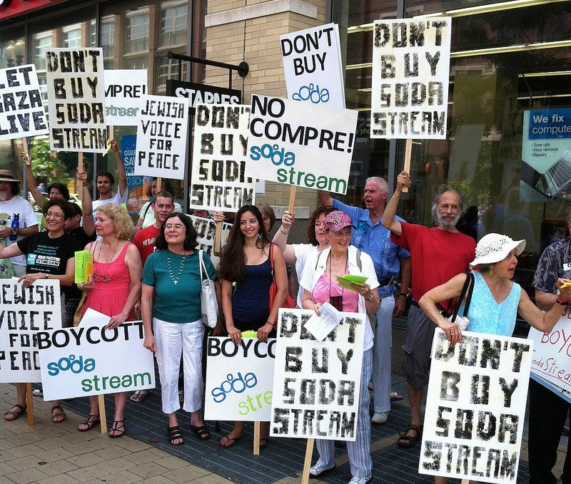 Why These People Want You to Boycott SodaStream