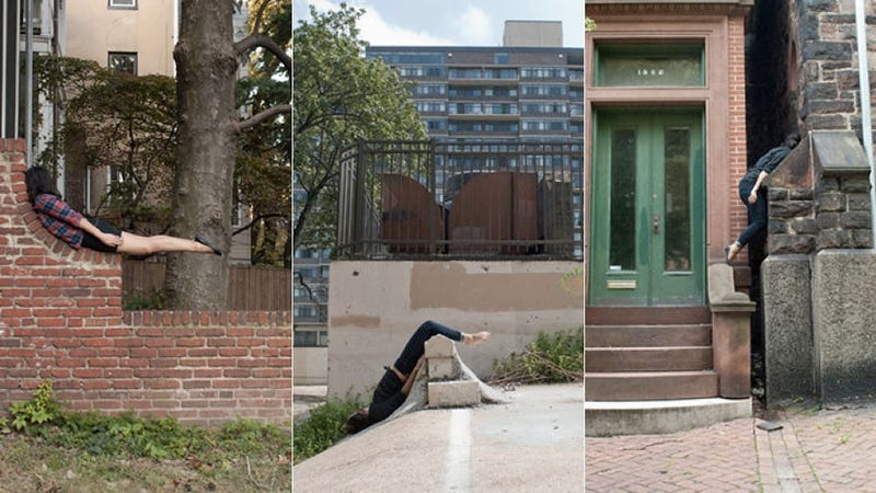 Is This the Evolution of Planking?