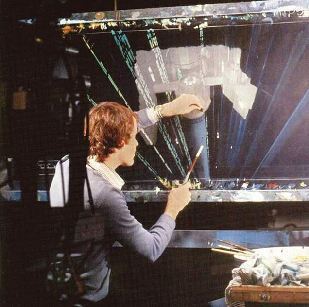 The matte paintings of the original Star Wars trilogy and their creators
