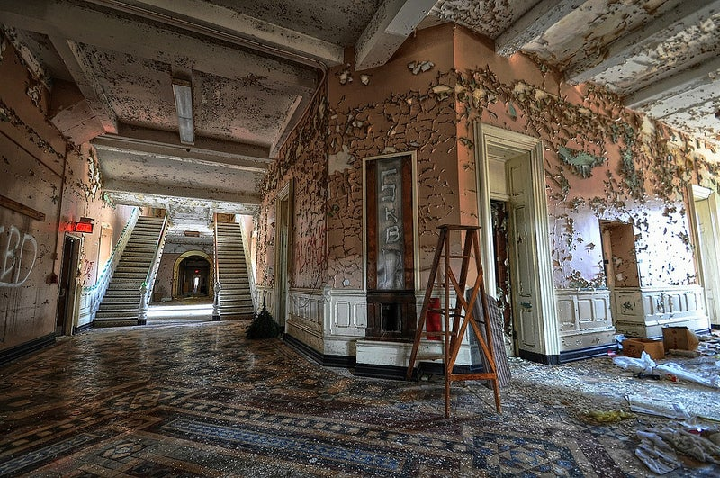 Why are we so fascinated by photographs of decaying buildings?