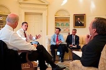 Chaos In Barry's Jungle White House