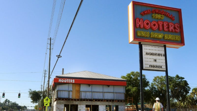 Hooters Devises a Rather Pathetic Plan to Lure Wives Inside Its Restaurants