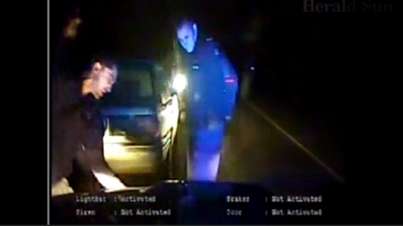 Watch an angry, Aussie cop bash a hoon's head in
