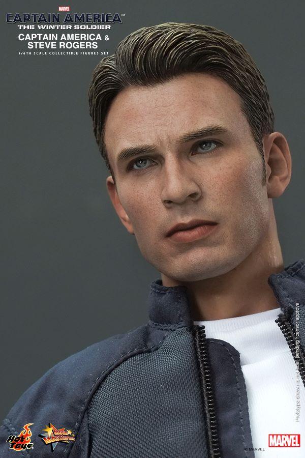 Captain America Action Figure Is Basically A Shrunken Chris Evans