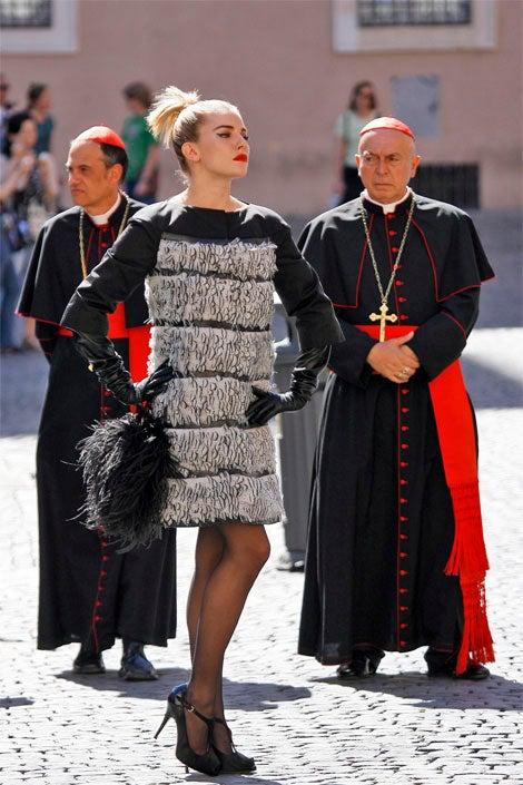 Roman-Catholic Cardinals, Sienna Miller In Major Standoff