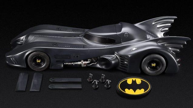 Batmobile Toy Model Tim Burton-era Batmobile Model