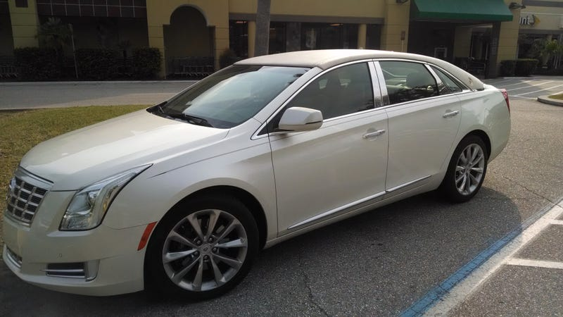 Nothing Screams Old like an XTS with a landau top!