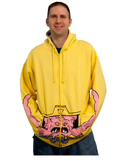Krang Sweater Proves Male Brains Are Below The Midsection