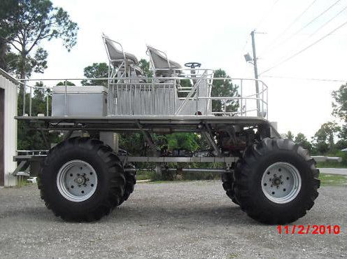 Swamp Buggy Fights Zombiepocalypse On A Budget