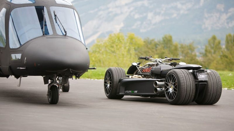This Ferrari-Engined French Quad Is Deeply Crazy And Pretty Stupid