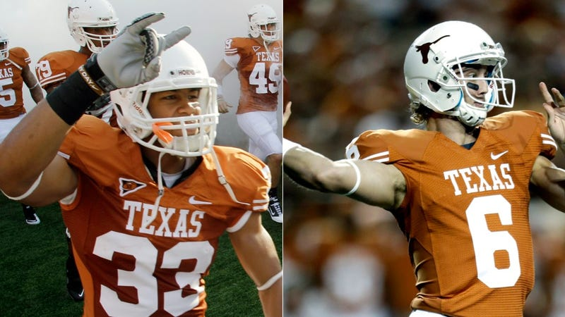Texas Reinstates Two Football Players Linked To Alleged Sexual Assault; Police Say They're Still Investigating