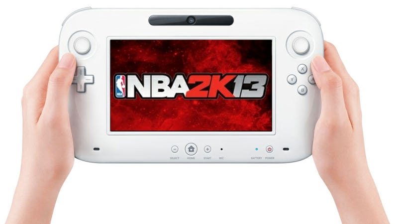 NBA 2K13 Hits in Early October... But The Wii U Doesn't?