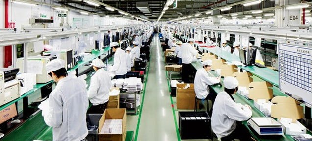 Report: Foxconn Is Building a Display Plant to Make Sapphire Glass