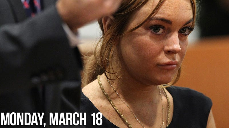 Lindsay Lohan's Not On Drugs But Having Trouble Making It to Court