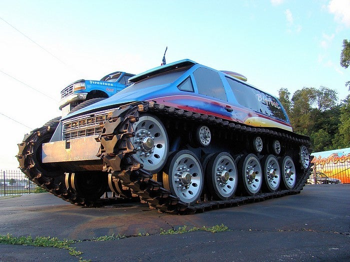The Ten Craziest Tracked Vehicles