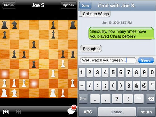Multiplayer Chess iPhone App Is Very Cool, But Probably Won't Be a Bestseller