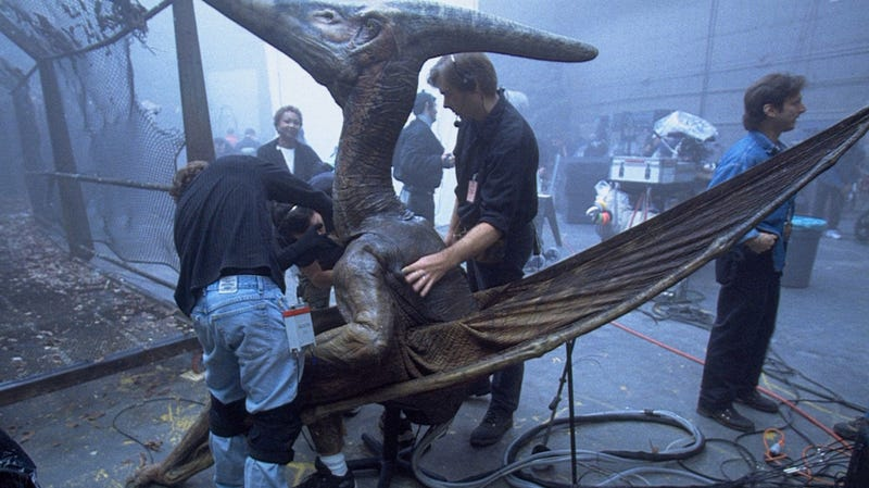 An Absurdly Cool Behind-The-Scenes Look At The Jurassic Park Dinosaur Puppets