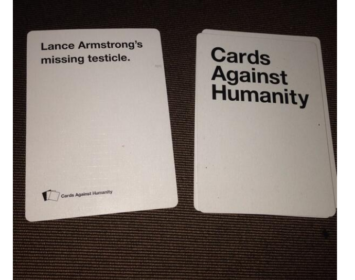 Lance Armstrong Gets 'Cards Against Humanity' Card About His Testicle
