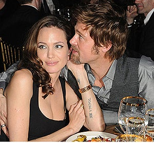 Angelina Pregnant With Tow-Headed Twins?