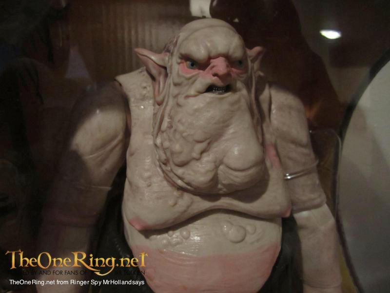 Full frontal shot of The Hobbit's Goblin King shows off the giant jowls of a monster!