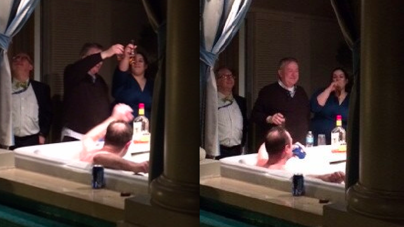 Congressman Ended CPAC Drinking with Young Republicans in a Bathtub