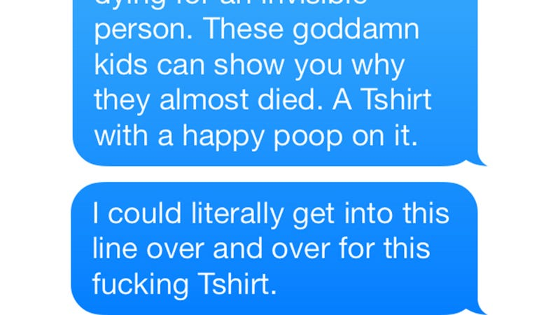 Insane Texts From a Comic-Con Attendee on Shrooms