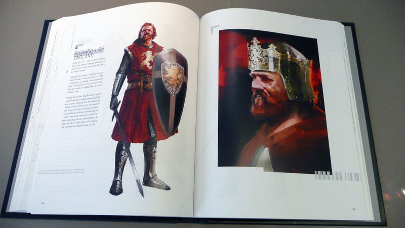 Holy Crap, the Assassin's Creed Art Book is Amazing