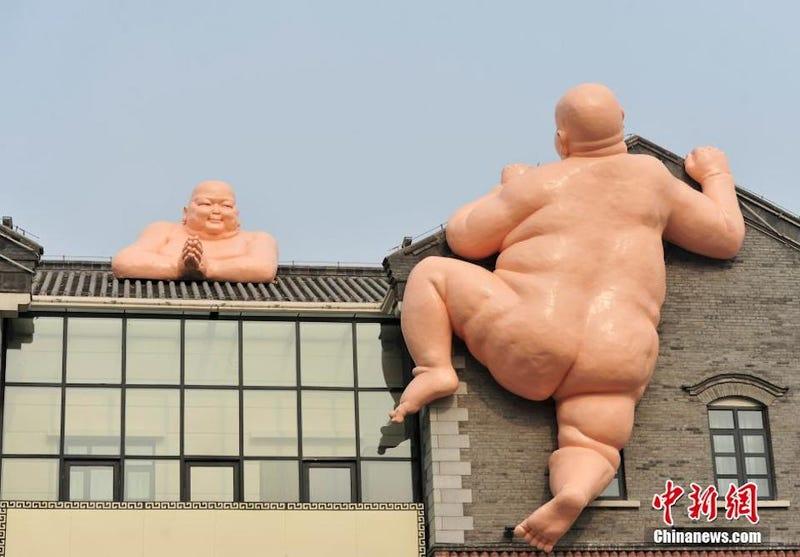 Naked Buddhas Attack! Attack On Buddha?!