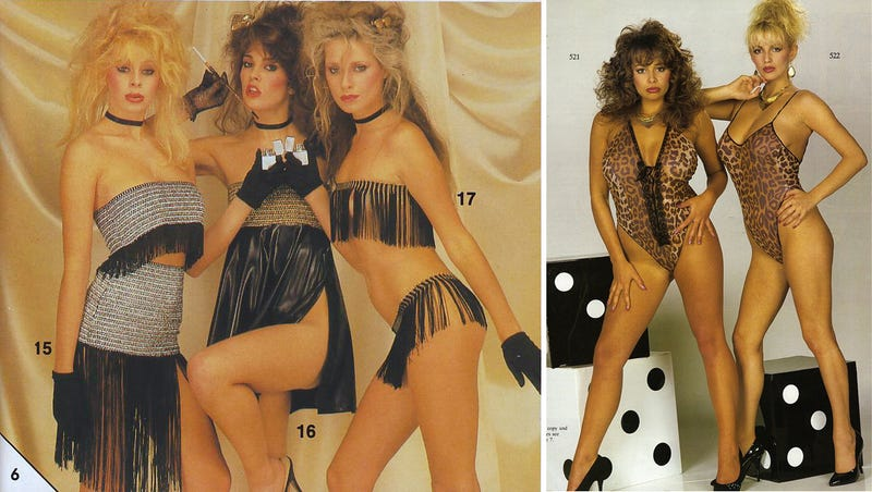 Let's Shop for Sleazy Lingerie in the 1980s