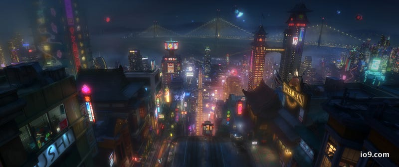 First look at Disney's first animated Marvel movie Big Hero 6