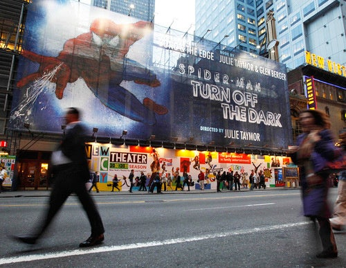 Spider-Man Broadway Show Delayed Yet Again