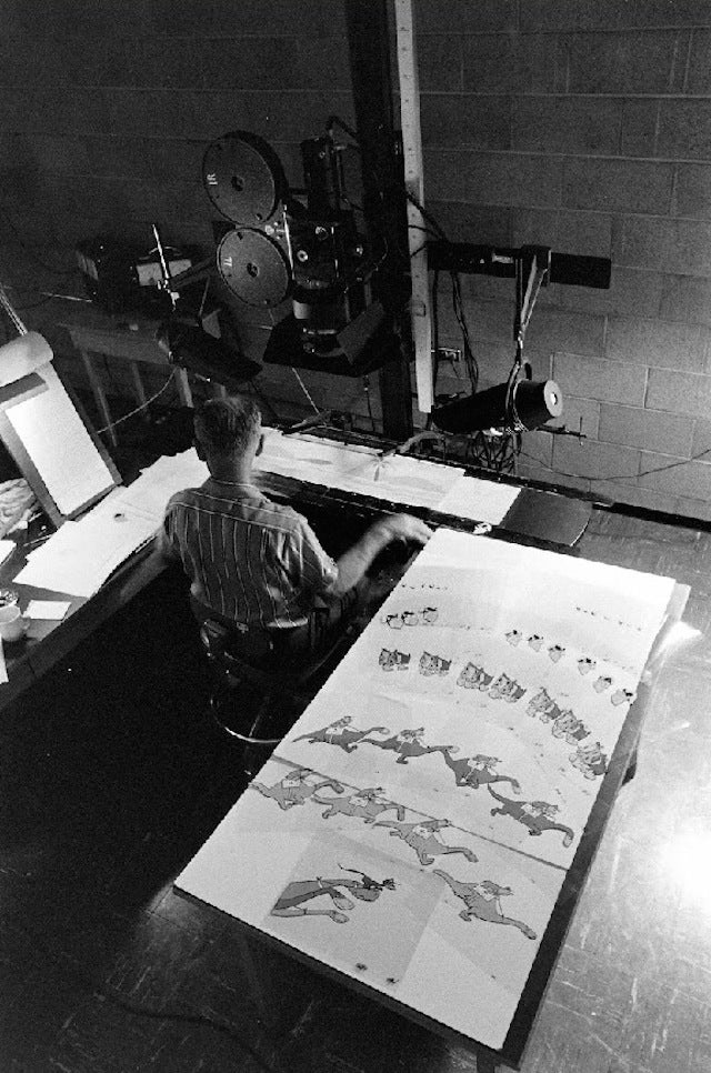12 Rare Flintstones Production Shots From the Golden Age of Animation