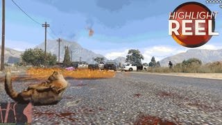 <i>GTA </i>Cat Goes On Molotov Cocktail Rampage