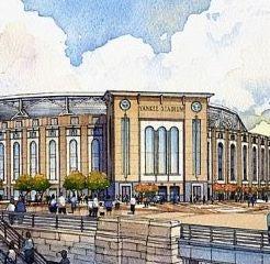 Yankees Spend on Stadium And, Hopefully, Giant Lefty