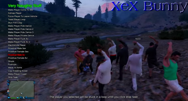 """GTA Online Mods Let People """"Rape"""" Other Players"""
