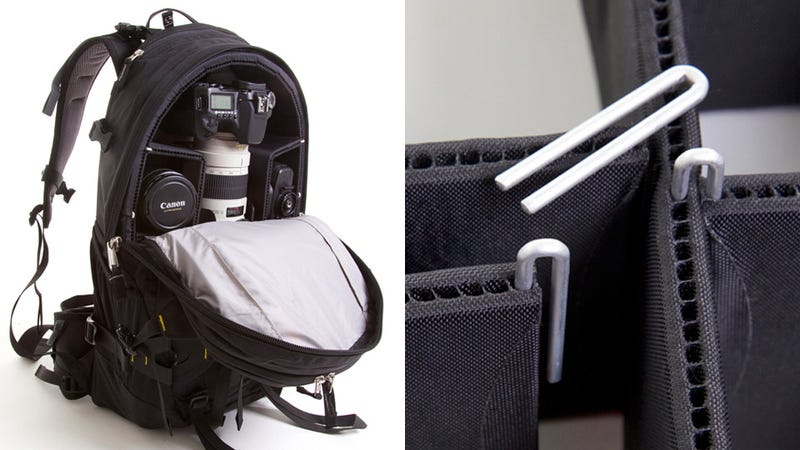 Better Camera Bag Padding Eliminates Annoying Velcro