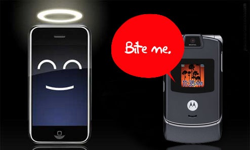 iPhone Passes the RAZR to Become Best Selling Phone in the US This Quarter