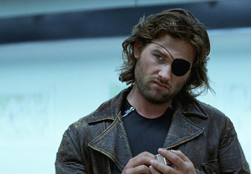 My own little head-canon for Kurt Russell characters.