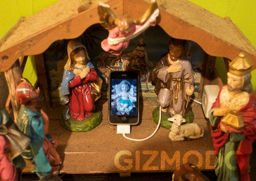 Rejoice, the Real Baby JesusPhone Has Cometh