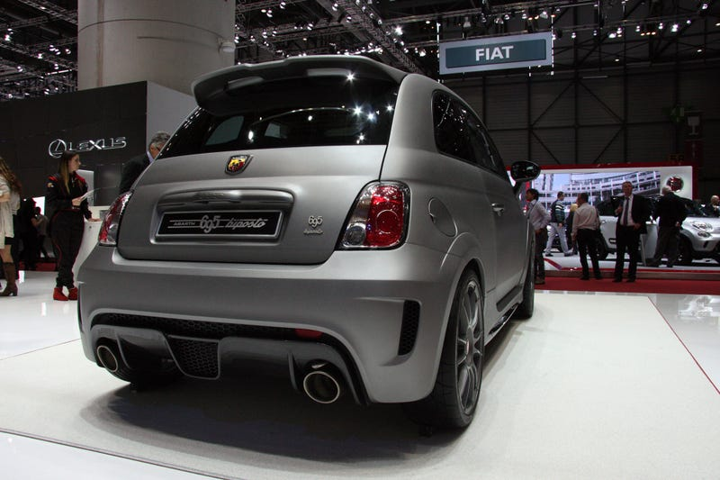 The Abarth 695 Biposto Is Batshit Nuts And We Need It Right Now