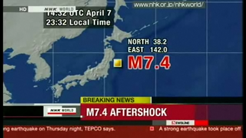 Japan Hit by Second Major Quake (Updated)