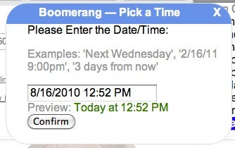Boomerang Schedules Your Gmail Messages (and We've Got Beta Invites)