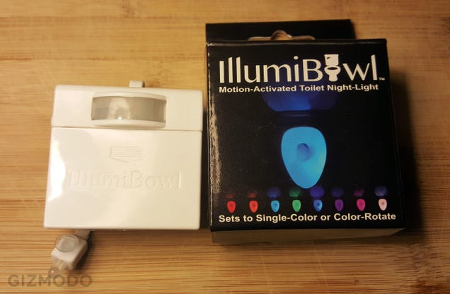 Illumibowl Is the Toilet Nightlight We All Hoped It Would Be