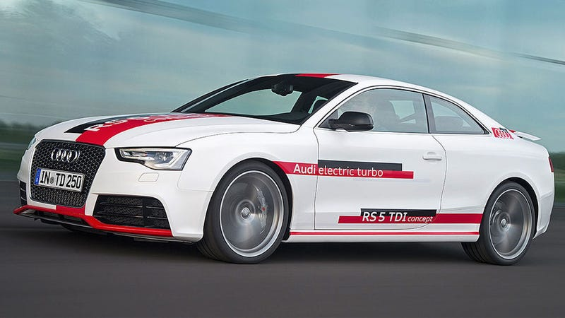 Audi's RS5 TDI Concept Gives You A Turbocharger Three-Way