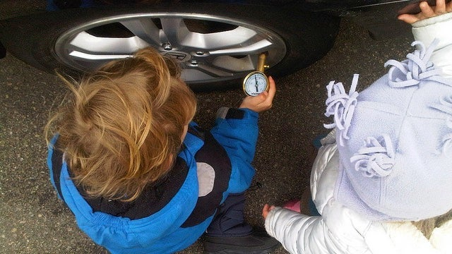 Keep Your Tire Pressure Gauge In the Trunk So You Check the Spare, Too