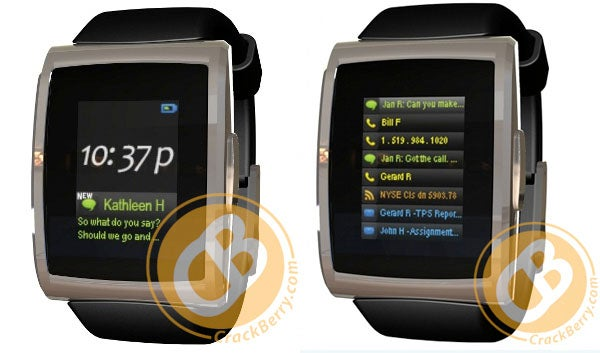 This, Folks, Is the BlackBerry Smartwatch