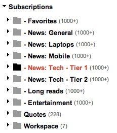 How Can I Organize My RSS Feeds So They're More Manageable?