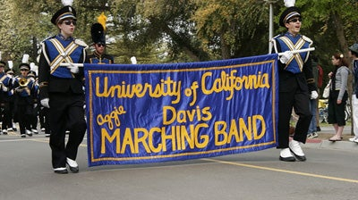 'Naked Van!' Could This Be The End For The UC Davis Marching Band?